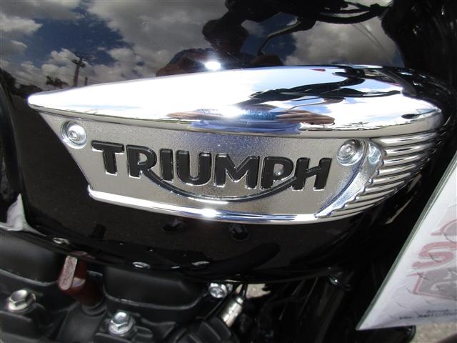 2018 Triumph Bonneville T100 Black at Fort Myers