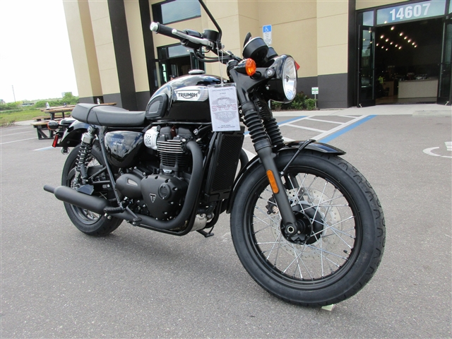 2018 Triumph Bonneville T100 Black at Fort Myers