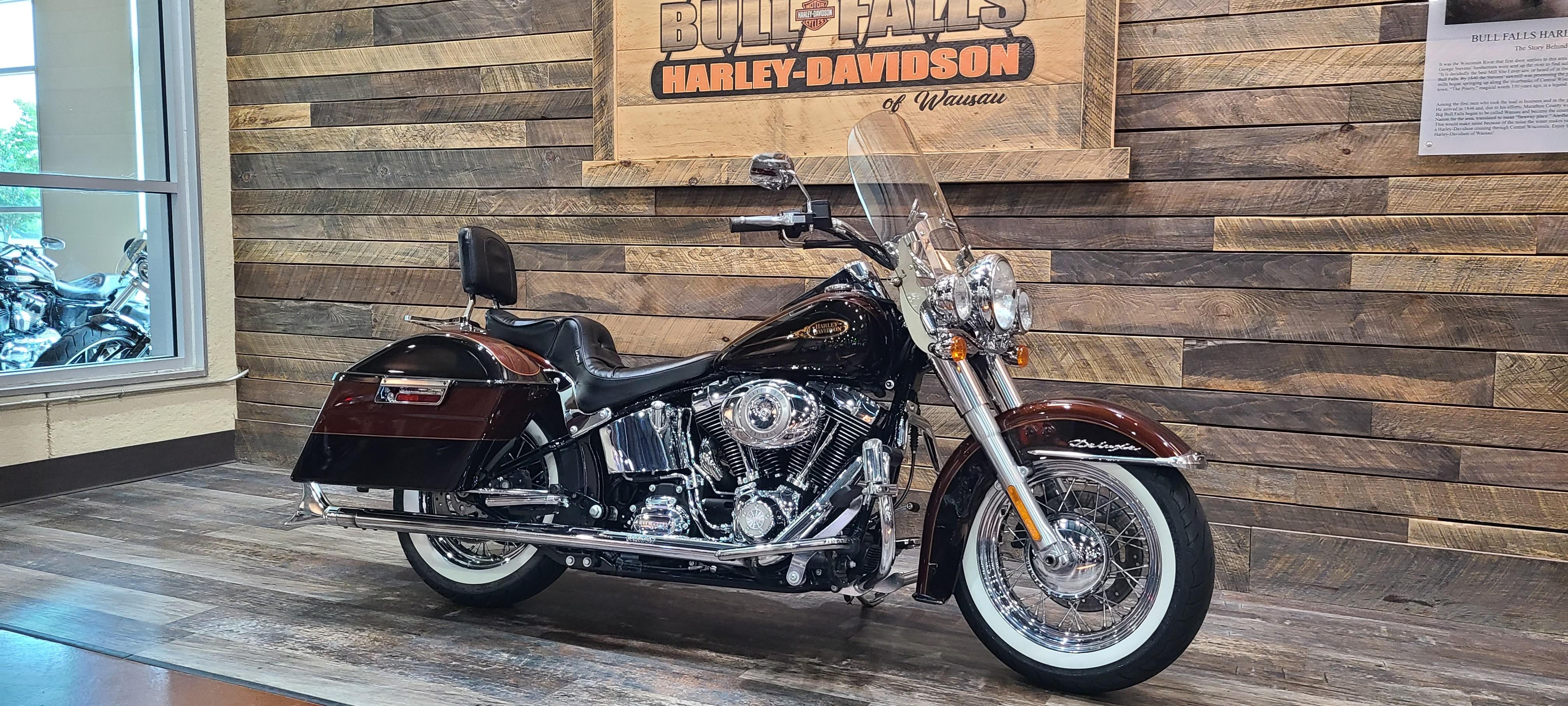 2009 Harley-Davidson Softail Deluxe at Bull Falls Harley-Davidson