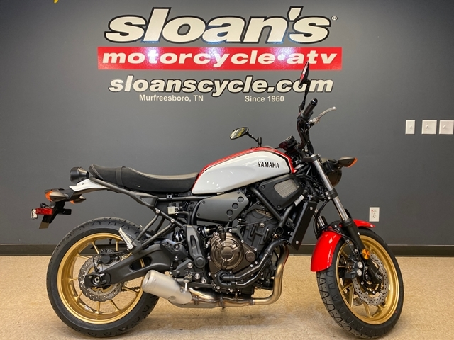 2021 Yamaha XSR 700 at Sloans Motorcycle ATV, Murfreesboro, TN, 37129