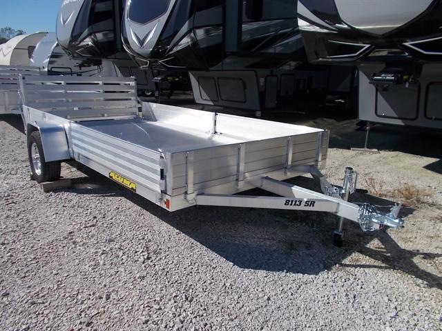 2020 Aluma 8113 SR Single Heavy Axle Utility Trailer at Nishna Valley Cycle, Atlantic, IA 50022