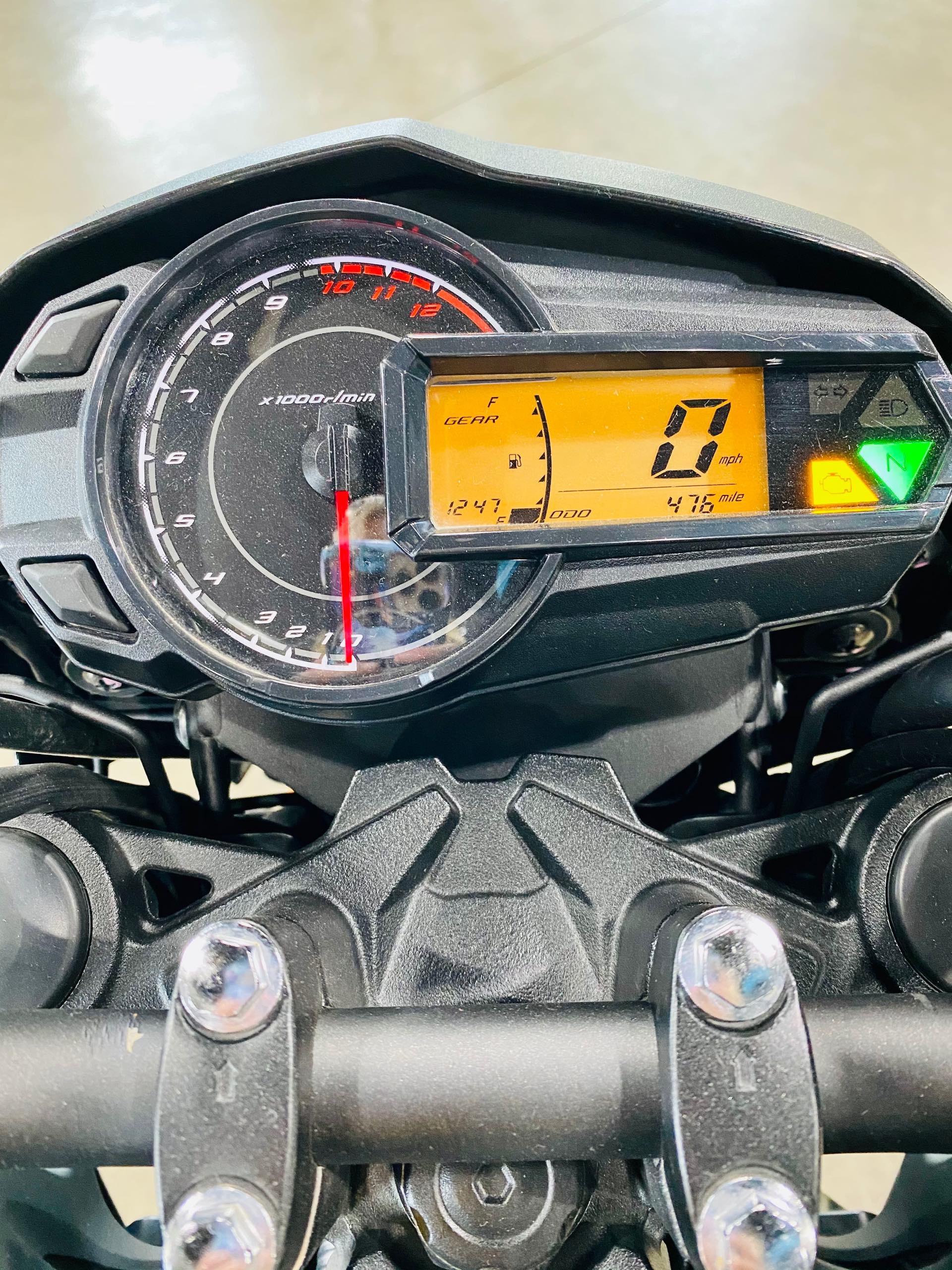 2019 Kawasaki Z125 PRO Base at Prairie Motor Sports