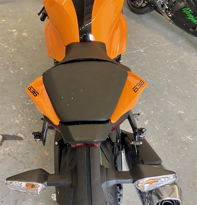 2020 KAWASAKI ZX636HLFL Base at Shreveport Cycles