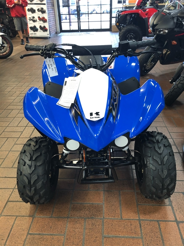 2021 Kawasaki KFX 50 at Wild West Motoplex