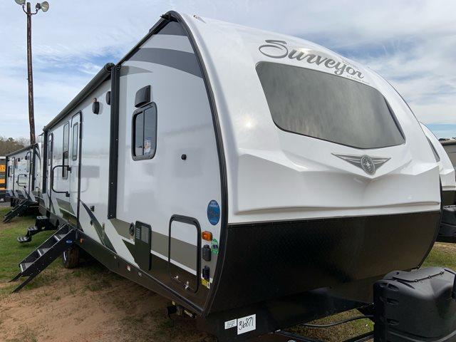 2019 Forest River Surveyor 33KFKDS Front Kitchen at Campers RV Center, Shreveport, LA 71129