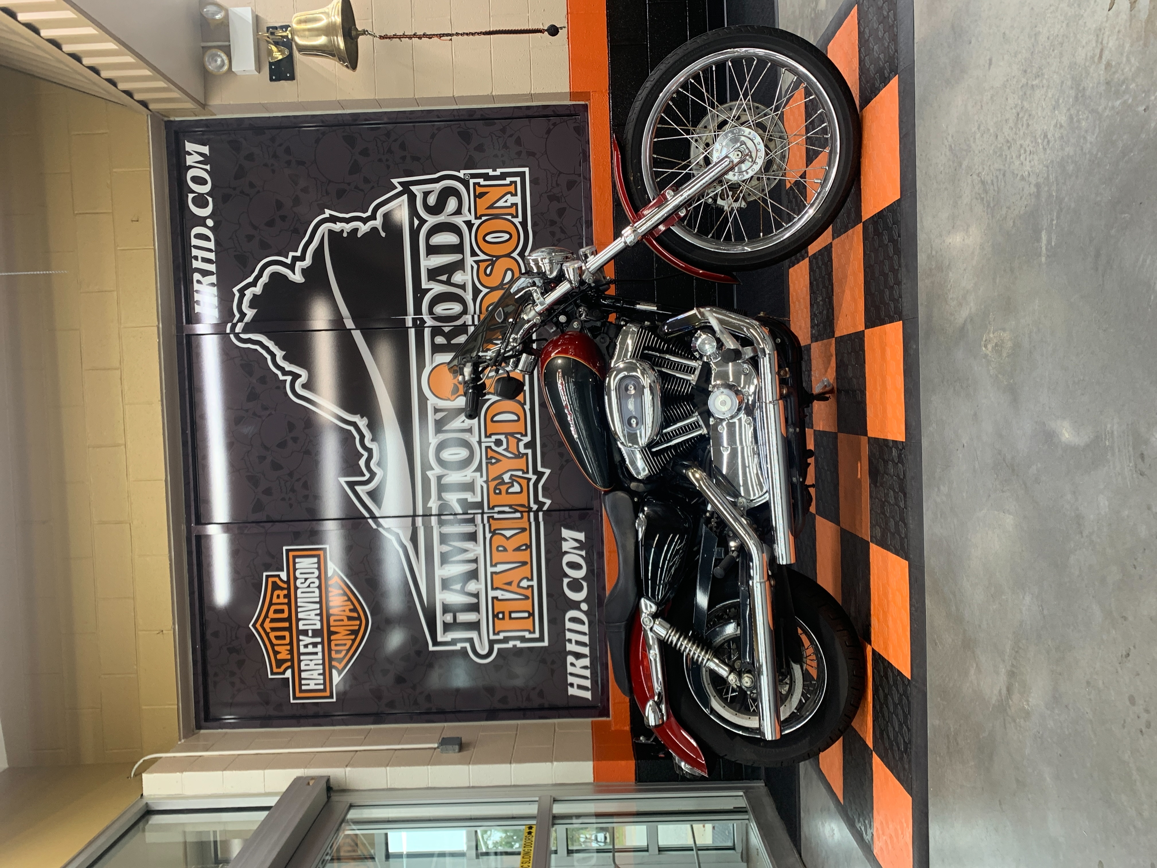 2007 Harley-Davidson Sportster 1200 Custom at Hampton Roads Harley-Davidson