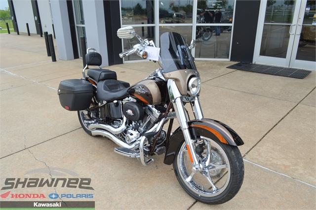 2011 Harley-Davidson Softail CVO Softail Convertible at Shawnee Honda Polaris Kawasaki