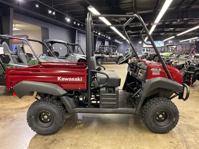 2021 Kawasaki Mule 4000 at Sloans Motorcycle ATV, Murfreesboro, TN, 37129
