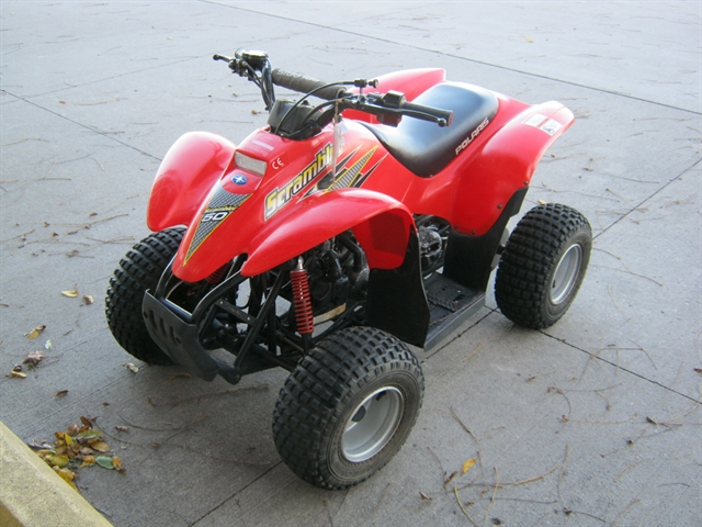 2001 Polaris Scrambler 50 at Brenny's Motorcycle Clinic, Bettendorf, IA 52722