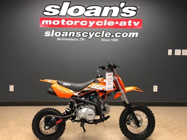 2021 SSR SRN110 MANUAL SRN110-21-OR at Sloans Motorcycle ATV, Murfreesboro, TN, 37129