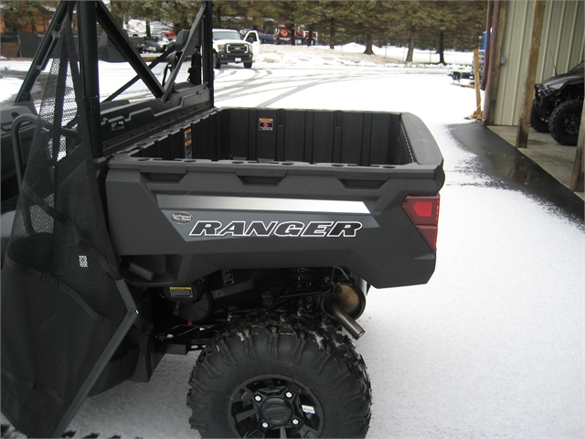 2021 Polaris Ranger 1000 Premium - Stealth Gray at Fort Fremont Marine