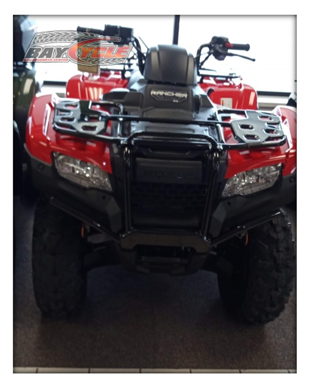 2020 Honda Rancher 4X4 4X4 EPS at Bay Cycle Sales