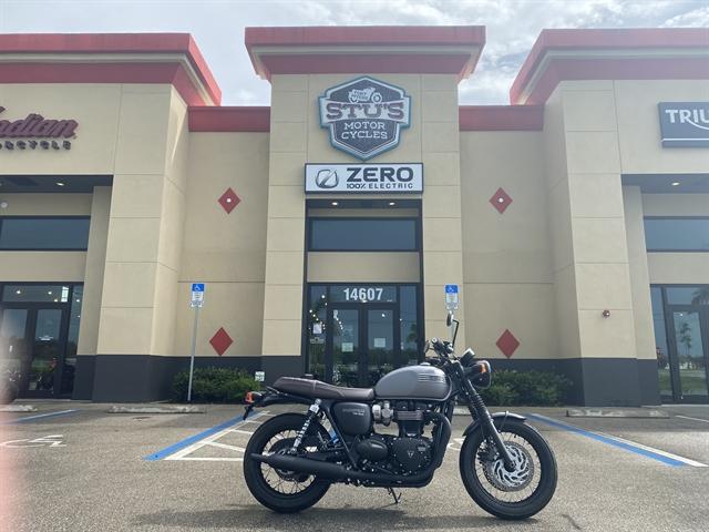 2018 Triumph Bonneville T120 Black at Fort Myers