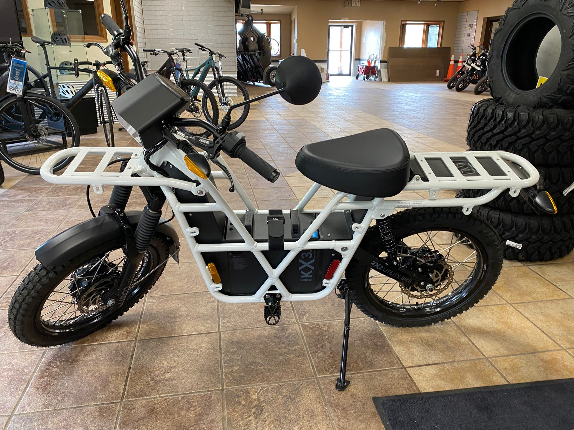 2021 Ubco 2X2 Adventure KX21 at Gold Star Outdoors
