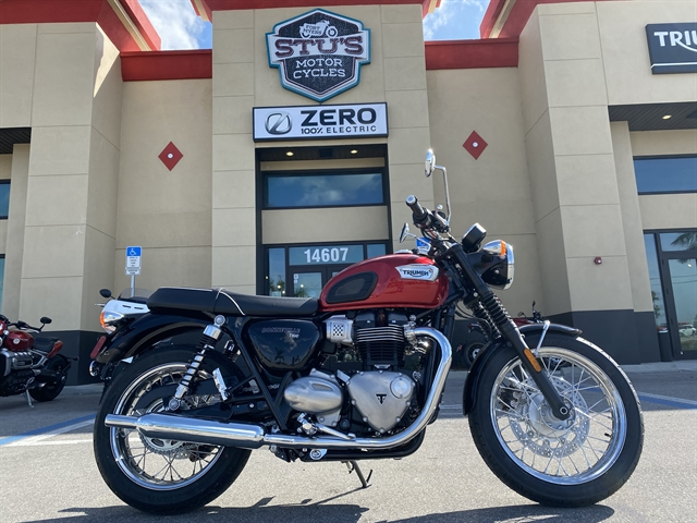 2020 Triumph Bonneville T100 (Color) at Fort Myers