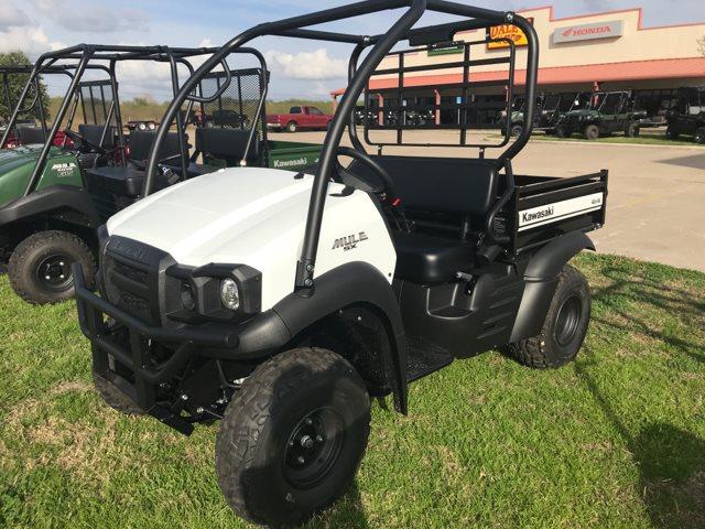 2019 Kawasaki Mule SX 4x4 SE at Dale's Fun Center, Victoria, TX 77904