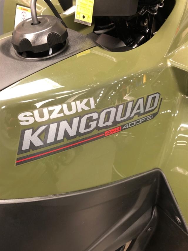 2020 Suzuki KingQuad 400 FSi at Sloans Motorcycle ATV, Murfreesboro, TN, 37129