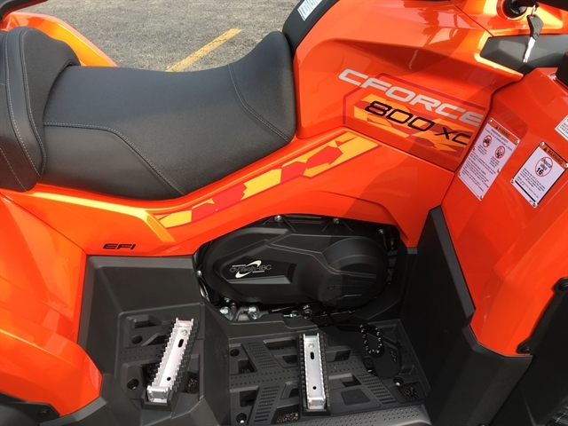 2021 CF MOTO CFORCE800XC - LAVA ORANGE at Randy's Cycle, Marengo, IL 60152