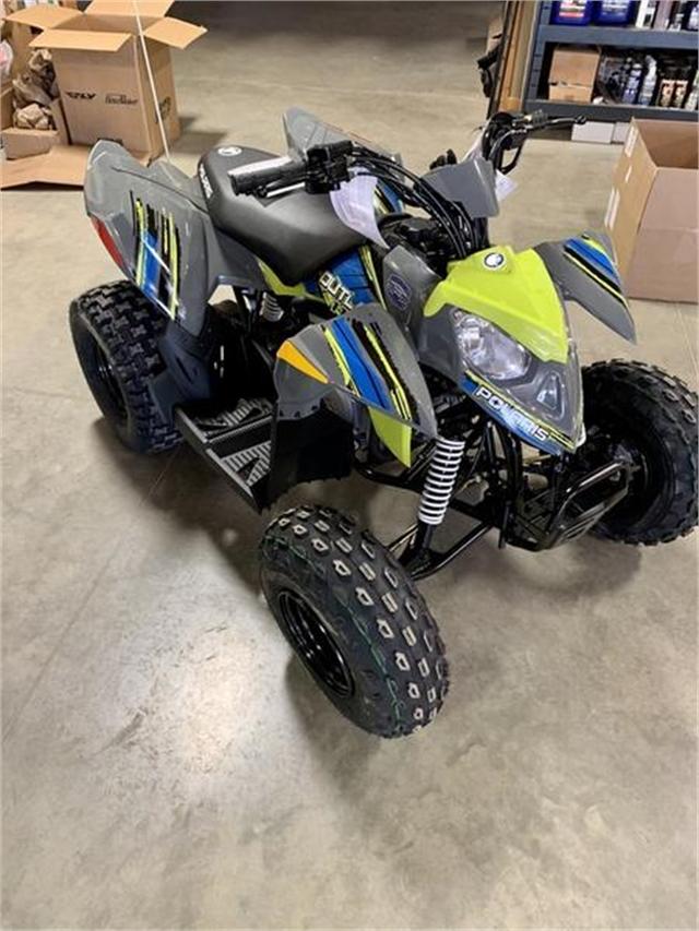 2022 Polaris Outlaw 110 EFI at Lynnwood Motoplex, Lynnwood, WA 98037