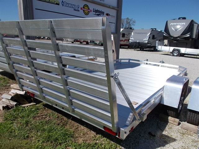 2020 Aluma 7712 Single Axle Utility Trailer Nishna