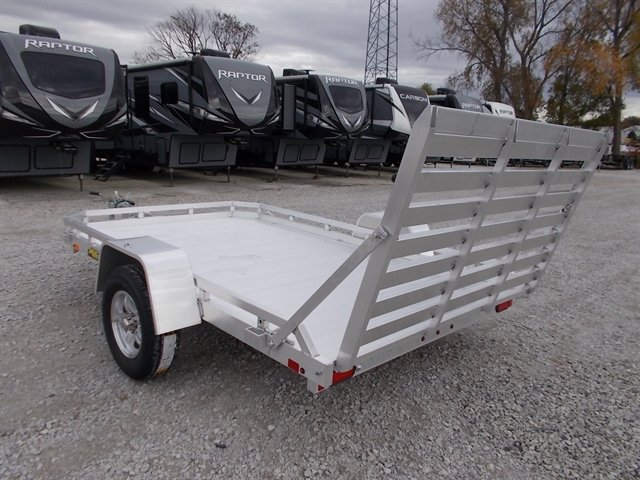 2020 Aluma 7710H Single Heavy Axle Utility Trailer at Nishna Valley Cycle, Atlantic, IA 50022