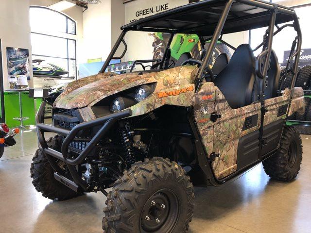 2018 Kawasaki Teryx4 Camo at Kawasaki Yamaha of Reno, Reno, NV 89502