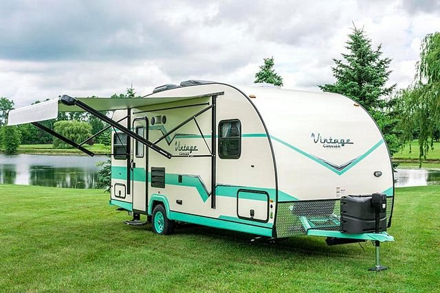 2019 Gulf Stream Vintage Cruiser 19ERD at Nishna Valley Cycle, Atlantic, IA 50022