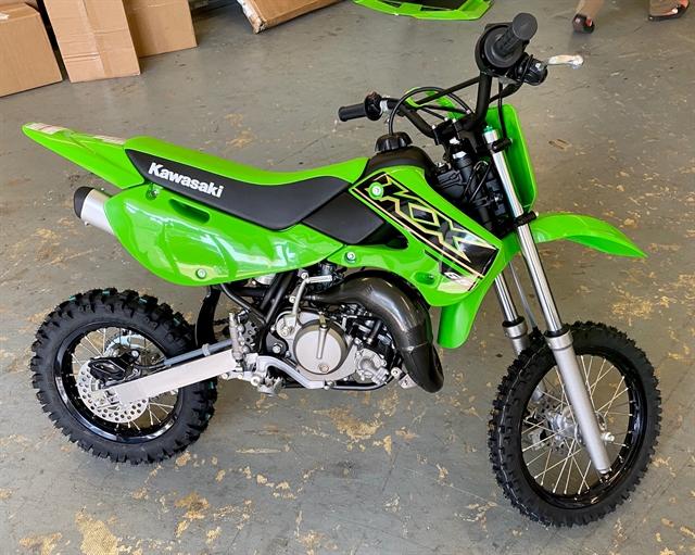 2021 Kawasaki KX 65 at Shreveport Cycles