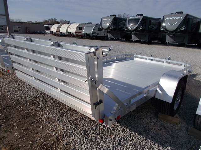 2020 Aluma 7712H BT Single Heavy Axle Utility Trailer at Nishna Valley Cycle, Atlantic, IA 50022