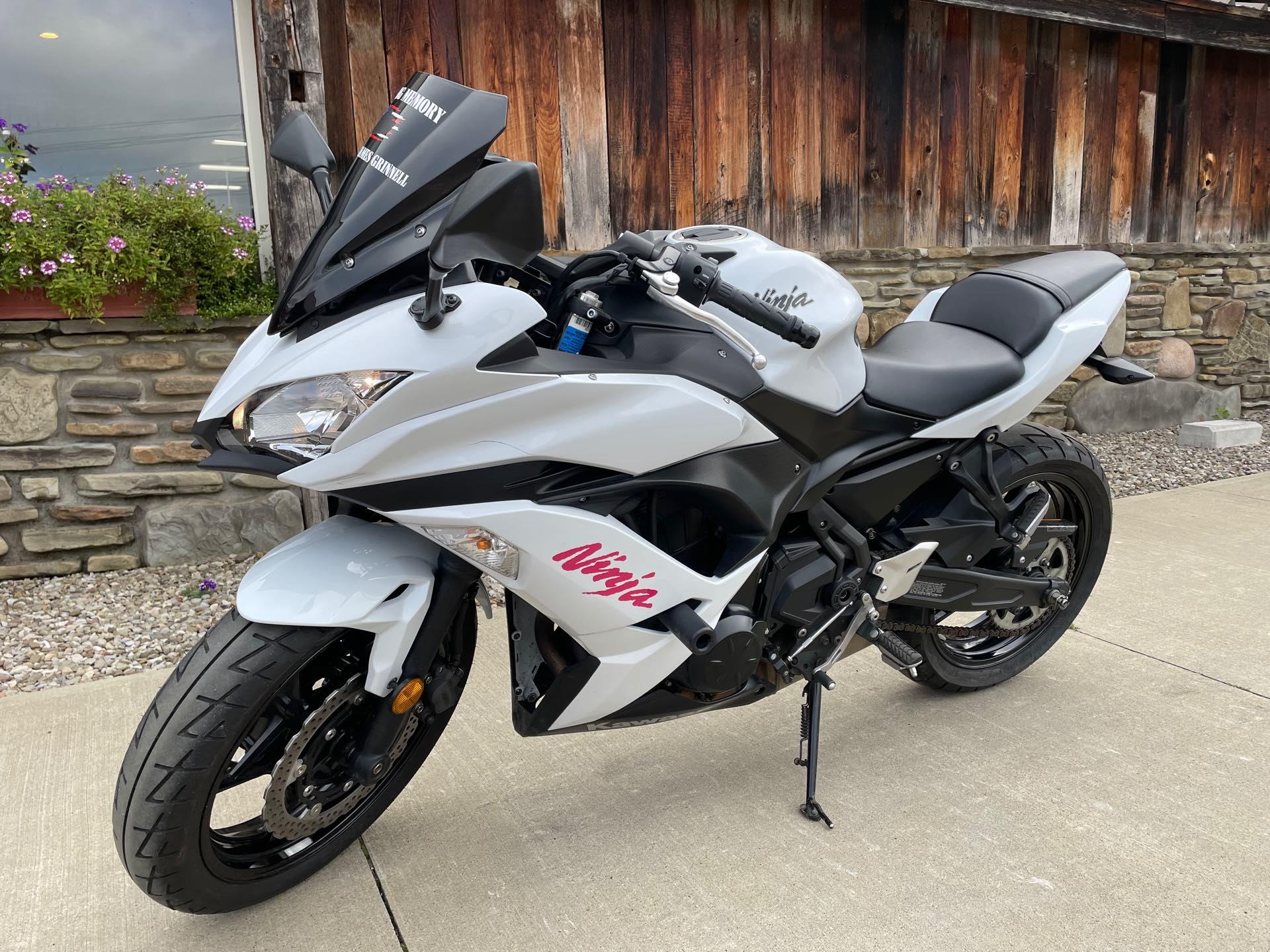 2017 Kawasaki Ninja 650 Base at Arkport Cycles
