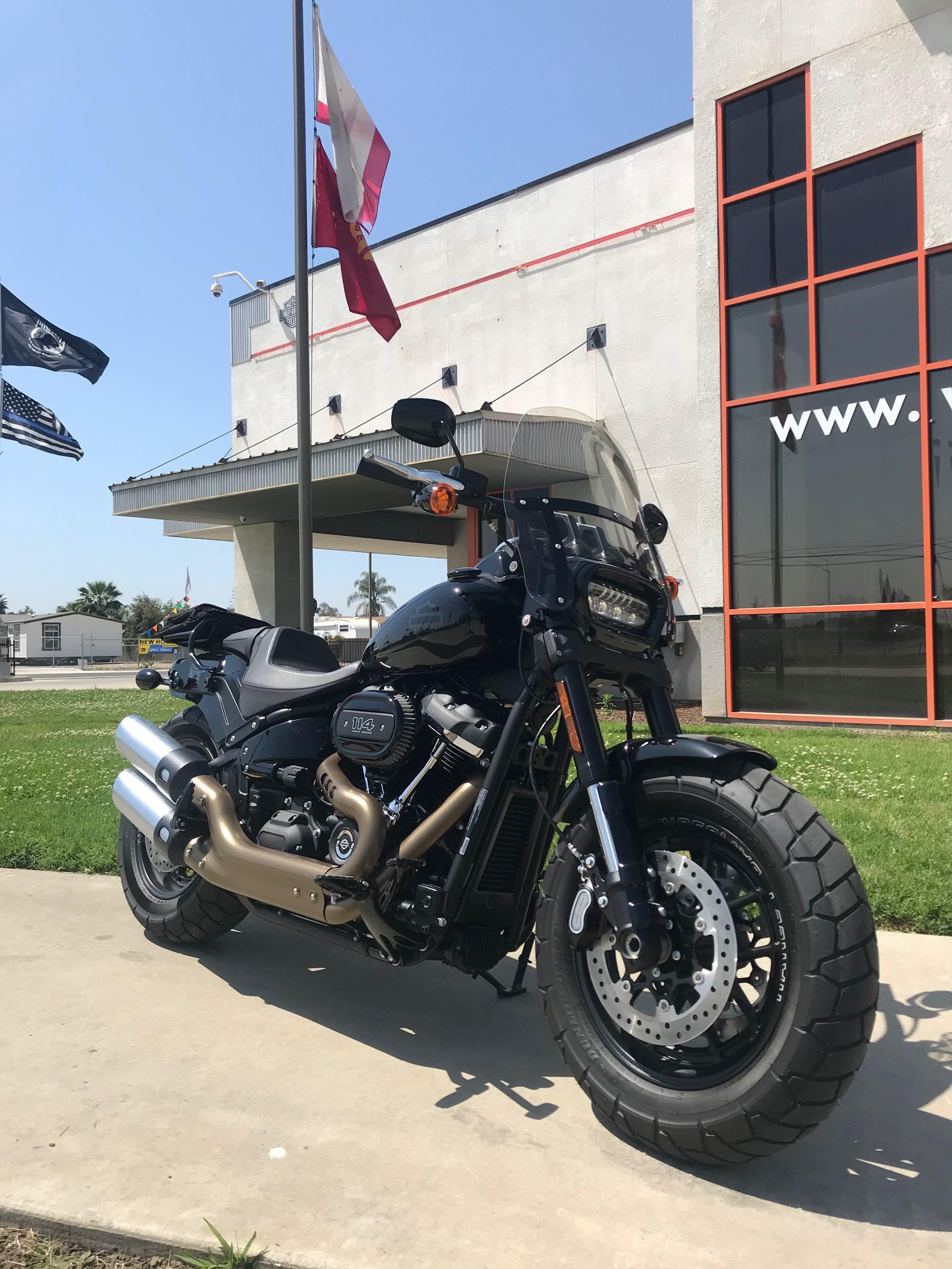 2019 Harley-Davidson Softail Fat Bob 114 at Visalia Harley-Davidson