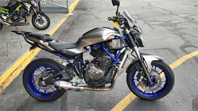 2016 Yamaha FZ 07 at Lynnwood Motoplex, Lynnwood, WA 98037
