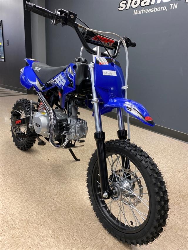 2021 SSR SR125 SEMI SRN125SEMI-21-BL at Sloans Motorcycle ATV, Murfreesboro, TN, 37129