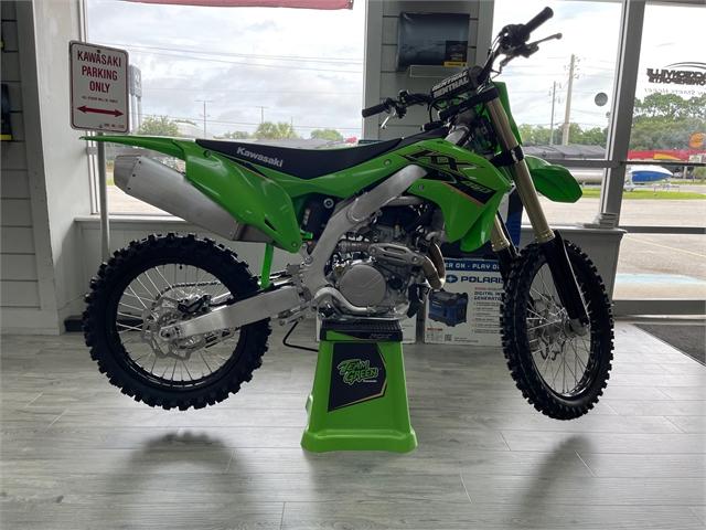 2022 Kawasaki KX 450 at Jacksonville Powersports, Jacksonville, FL 32225
