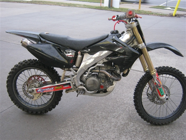 2004 Honda CRF450R at Brenny's Motorcycle Clinic, Bettendorf, IA 52722