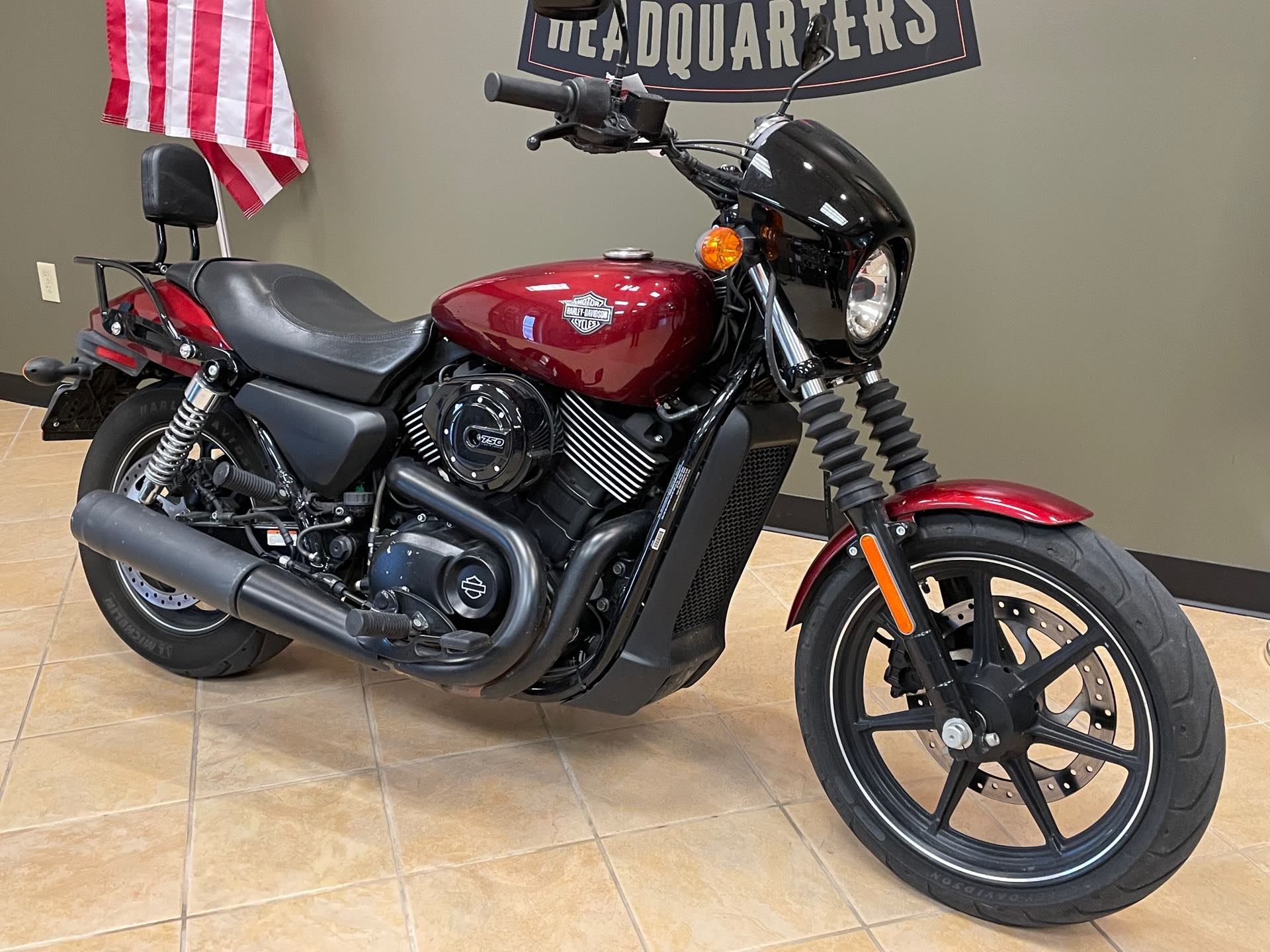 2016 Harley-Davidson Street 750 at Loess Hills Harley-Davidson