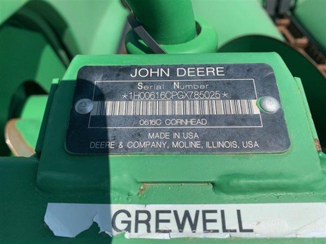 2016 John Deere 616C at Keating Tractor