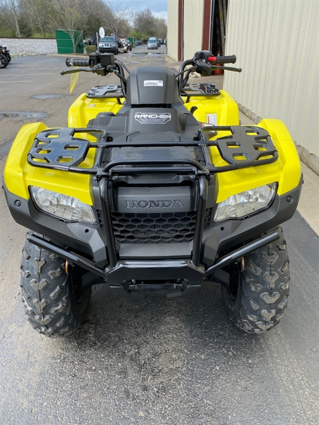 2020 Honda FourTrax Rancher 4X4 Automatic DCT EPS at Sloans Motorcycle ATV, Murfreesboro, TN, 37129