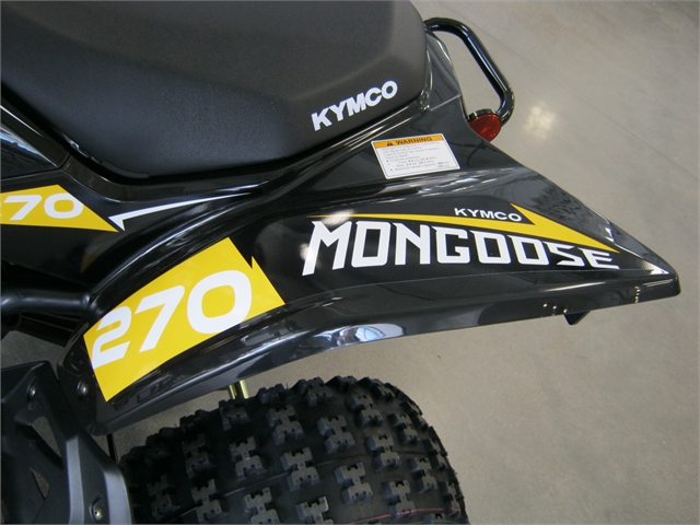 2021 Kymco Mongoose 270 (Y14) at Brenny's Motorcycle Clinic, Bettendorf, IA 52722