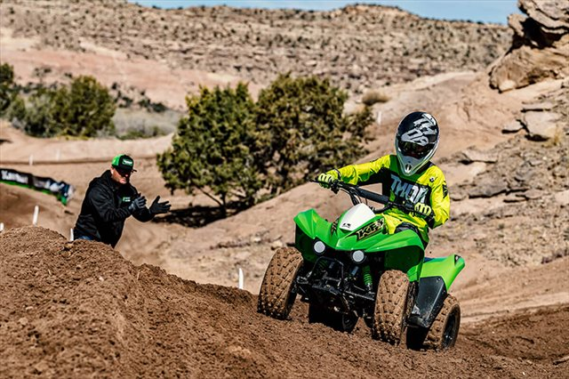 2021 Kawasaki KFX 90 at Extreme Powersports Inc