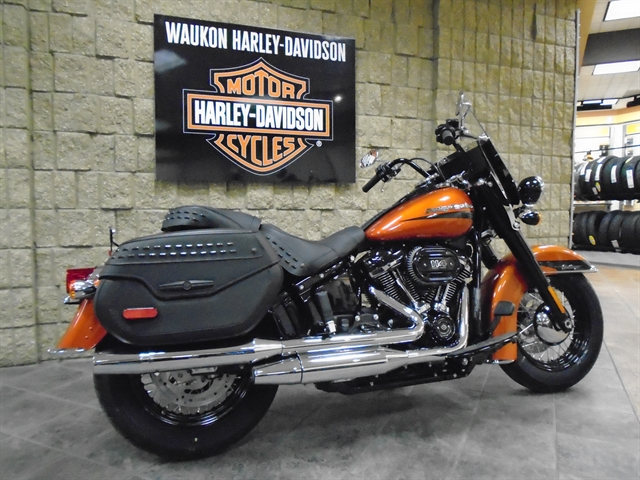 2020 Harley-Davidson Softail Heritage Classic 114 at Waukon Harley-Davidson, Waukon, IA 52172