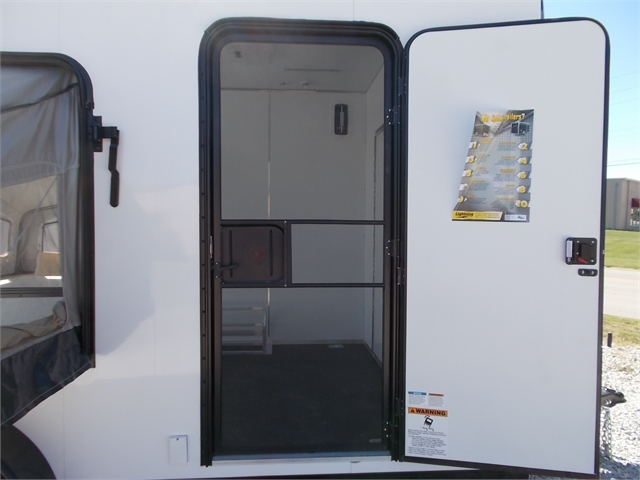 2022 Lightning Trailers 7' Wide Flat Top LTF716TA2 at Nishna Valley Cycle, Atlantic, IA 50022