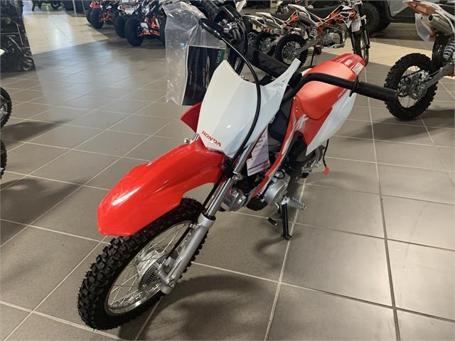 2021 Honda CRF 110F at Star City Motor Sports
