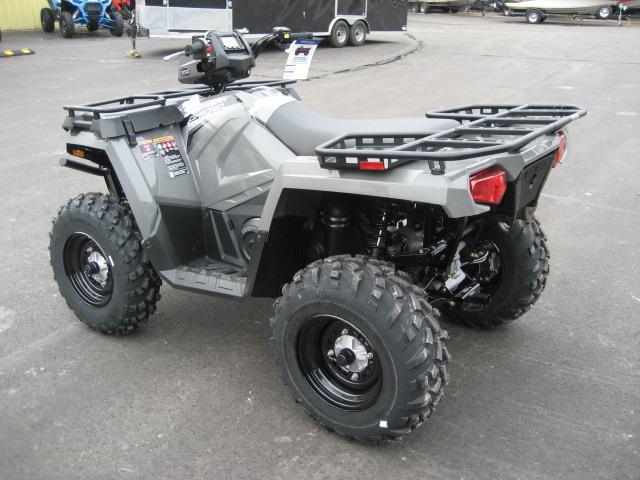 2020 Polaris 570 EPS Sportsman Utility Edition-titanium at Fort Fremont Marine