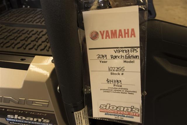 2019 Yamaha Viking EPS Ranch Edition at Sloan's Motorcycle, Murfreesboro, TN, 37129