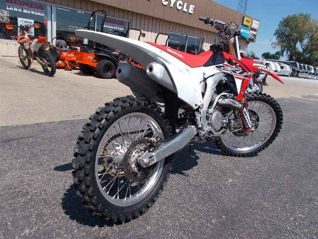 2015 Honda CRF 450R at Nishna Valley Cycle, Atlantic, IA 50022