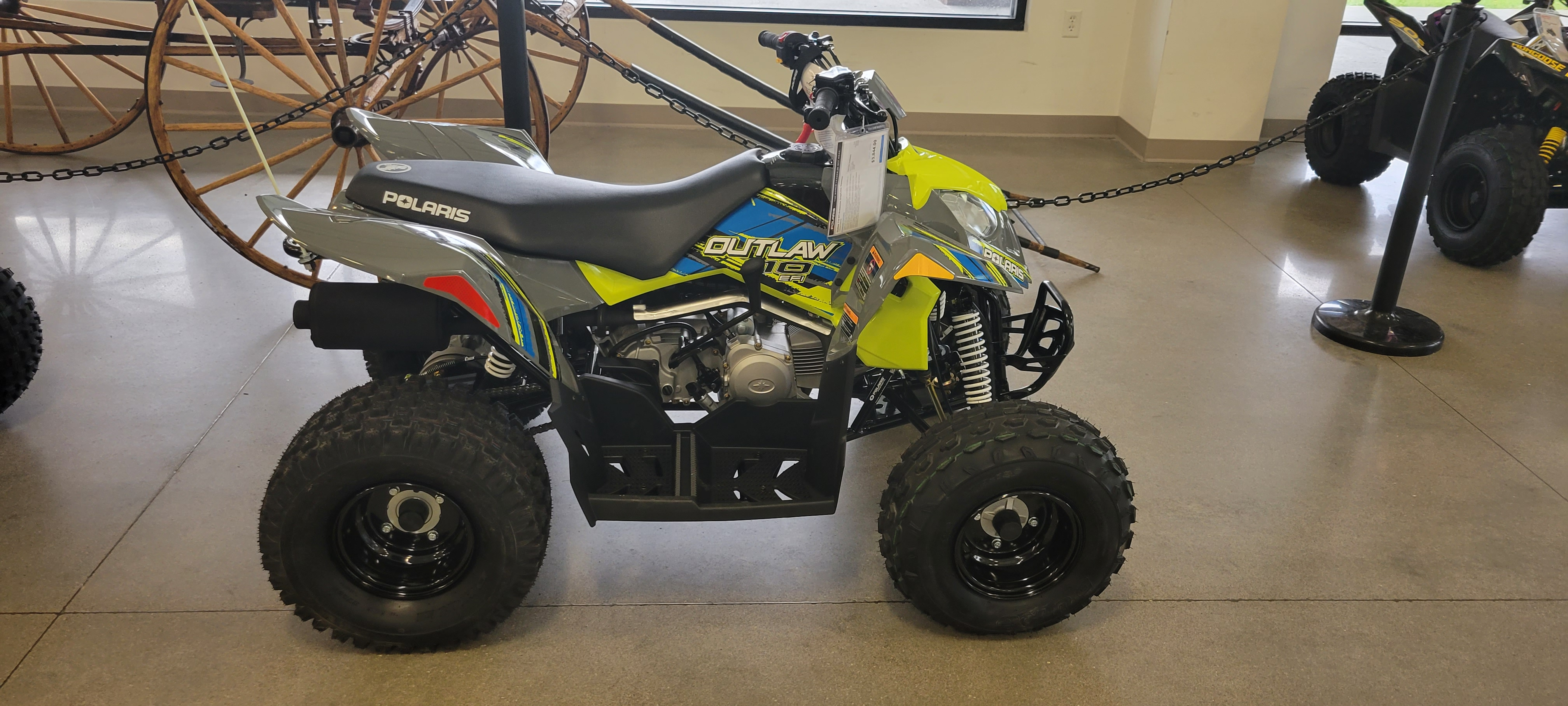 2022 Polaris Outlaw 110 EFI at Brenny's Motorcycle Clinic, Bettendorf, IA 52722