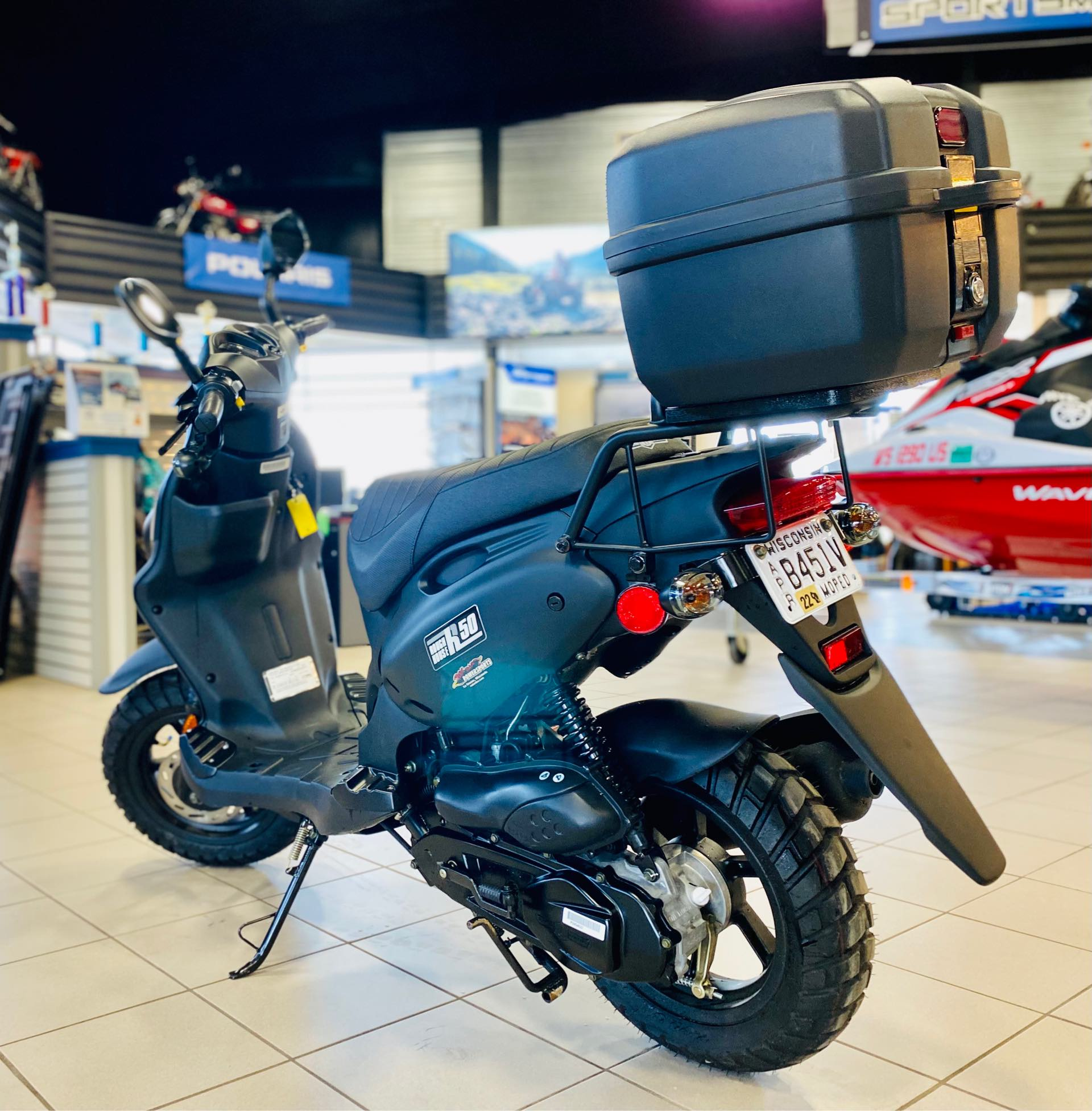 2021 Genuine Scooter Co Roughhouse 50 at Rod's Ride On Powersports