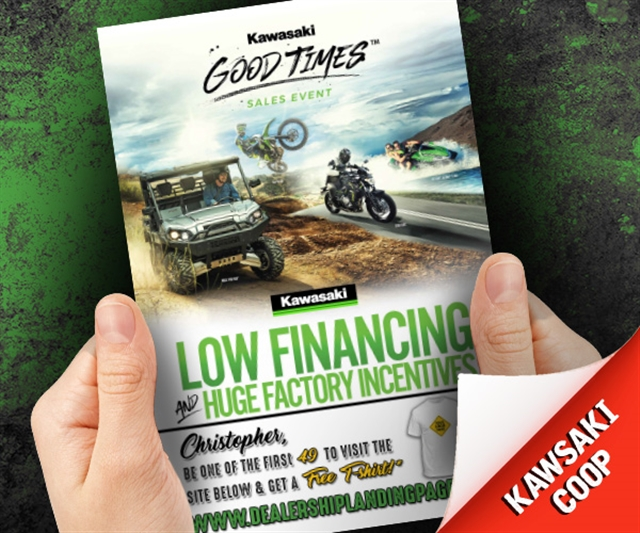 2019 Anytime Kawasaki Good Time Sales Event Powersports at PSM Marketing - Peachtree City, GA 30269