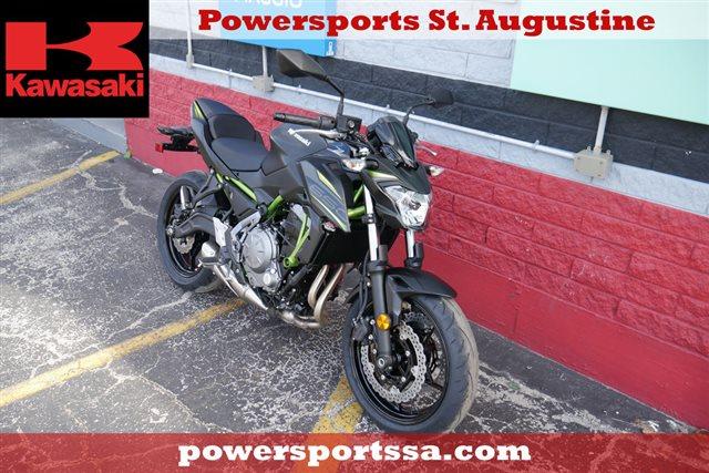 2019 Kawasaki Z650 Base at Powersports St. Augustine